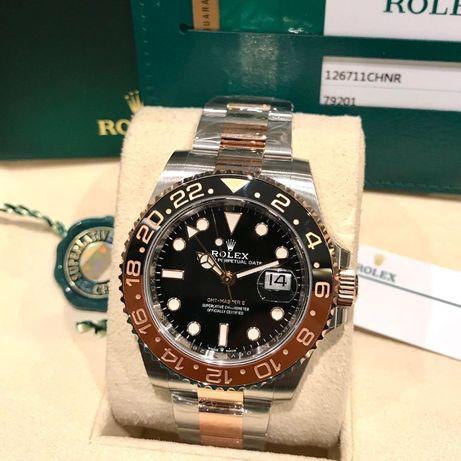 Rolex GMT Master II Silver Rose 126711