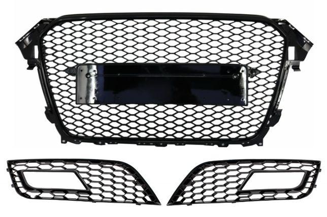 Grila Centrala si Laterale AUDI A4 B8 Facelift (2012-2015) RS Design