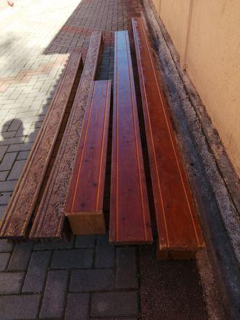 Galerii din lemn de brad.