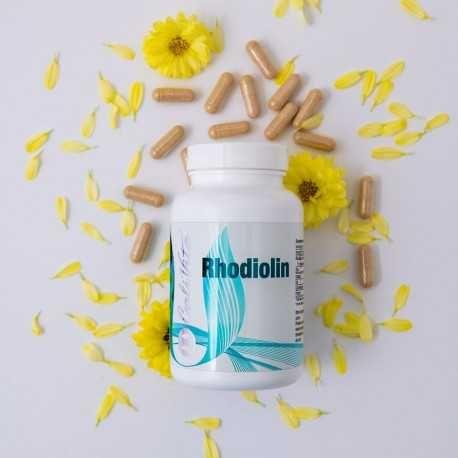 Rhodiolin Calivita 120 capsule- Inlatura stresul, oboseala cu 1 Leu/zi