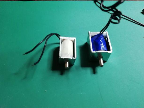Pachet selenoid miniatural EVACUARE aer 3V 6V (vana aer electrica mini