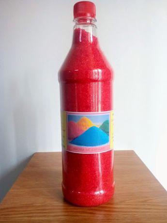 Zahar colorat aromatizat. Aroma de Capsuni.
