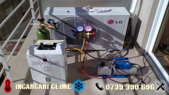 Incarcare freon aparate AC