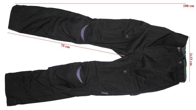 Pantaloni moto Clover Wind&Waterproof full protectii barbati 44(XXS)