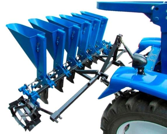 Semanatoare ceapa - arpagic bulbi pe 6 randuri tractor.
