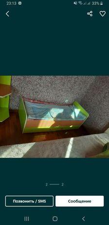 Детская мебель, кровать и шифоньер