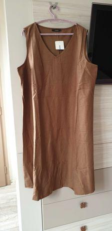 Ленена лятна рокля Lc waikiki, нова с етикет