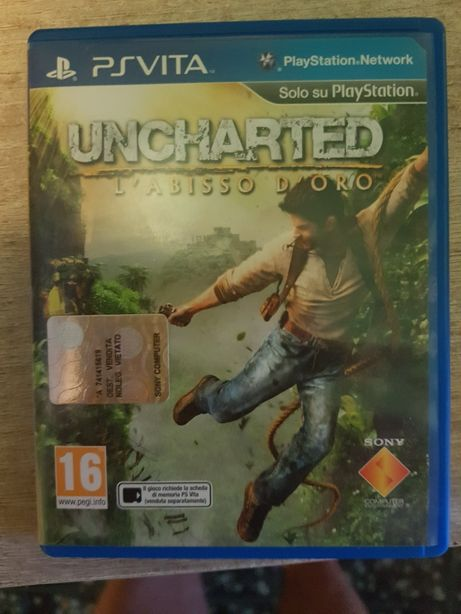 Ps vita uncharted golden abiss de lei