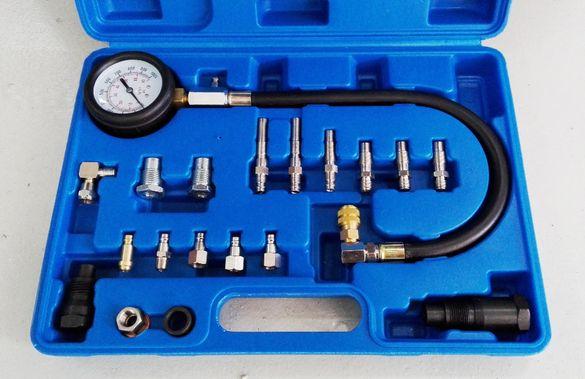 Комплект за измерване на компресия на дизелови двигатели, 50198