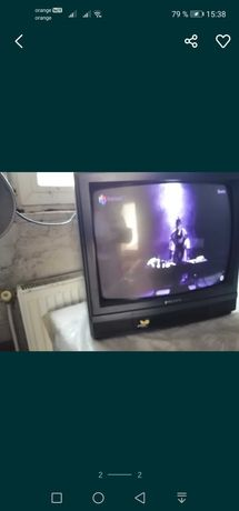 Vând televizor cu tub marca polaris