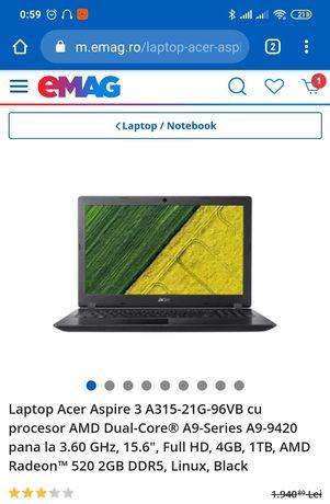 Acer aspire 3 + set gaming