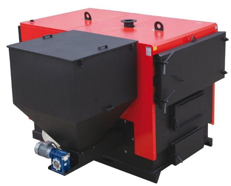 Автоматичен пелетен котел комбиниран до 1188 кв с. Войводиново - image 1