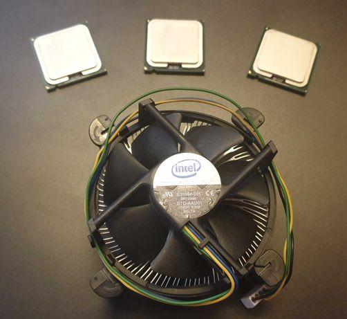 Intel Core2 Duo Processor Socket 755, E6550, E6600, E8400, Ventilator