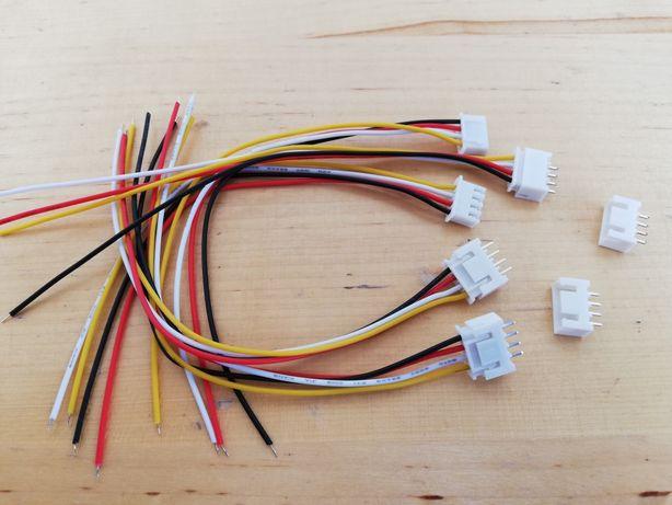 Vind 5 buc. conectori JST-XH 3S+mufă tată