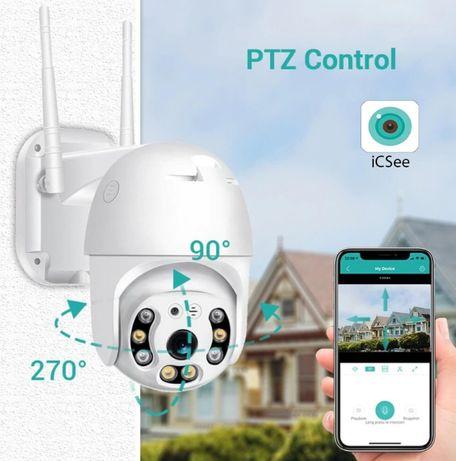 Wifi камера 1080P PTZ IP Camera 360, 5MP 8 LED Sony lens
