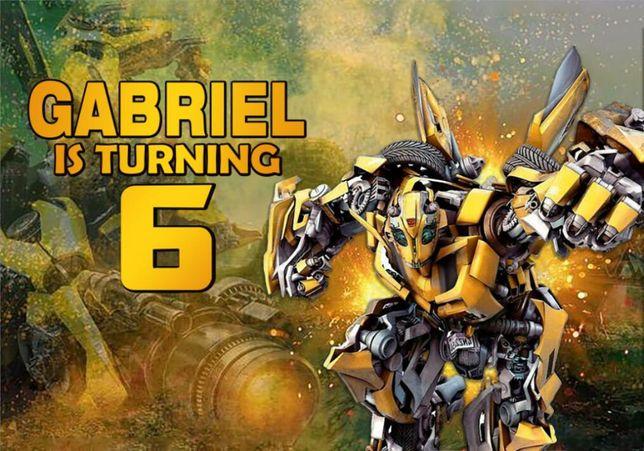 La multi ani Transformers Bumblebee 6 ani