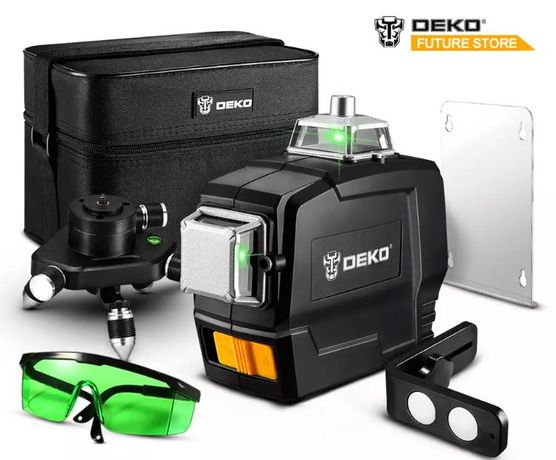 Лазерен нивелир 360 DEKO 3D 12 линии ПРОМО ЦЕНА!!!