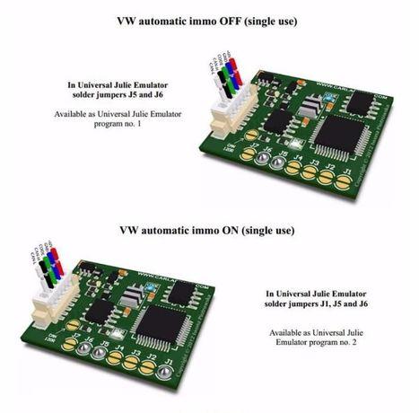 Immo Can универсален емулатор за 42 коли и 21 srs тип julie esl,ezs...