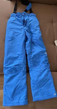 Pantalon ski cu bretele baieti 11-12 ani Trespass