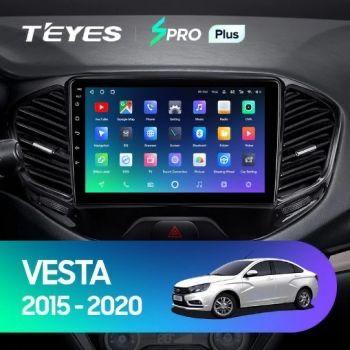 Штатная магнитола TEYES CC2L CC3 sPro+ для Lada Vesta Лада Веста
