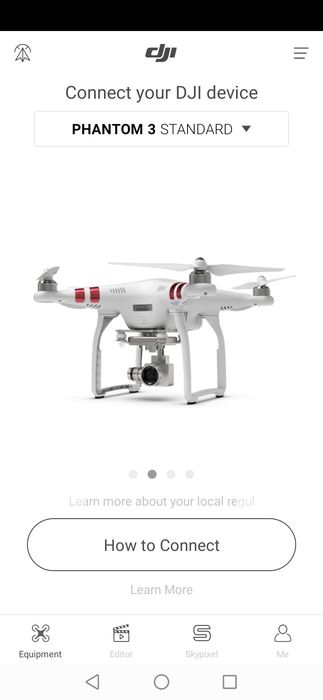 Vând drona  dji phantom 3 standard Latesti - imagine 1