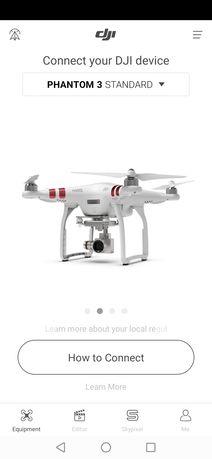 Vând drona  dji phantom 3 standard