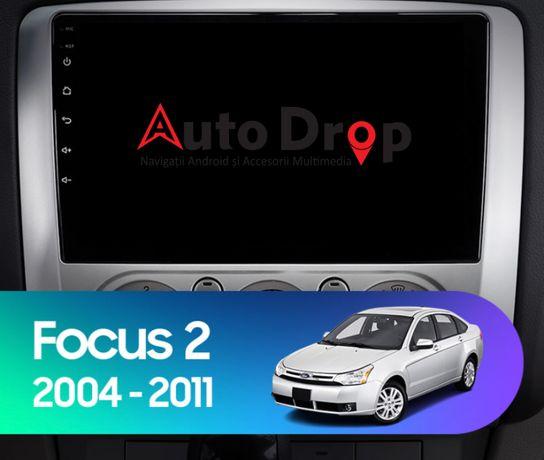 Navigatie Ford Focus, Climatronic, Android 9.1, Quadcore / 2GBRAM+32GB