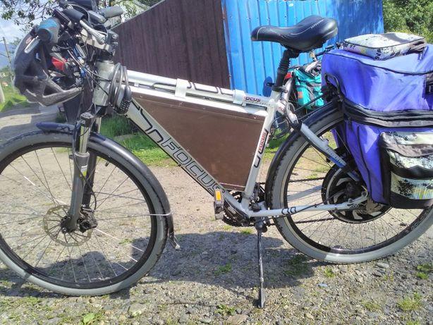 bicicleta electrica Home Made