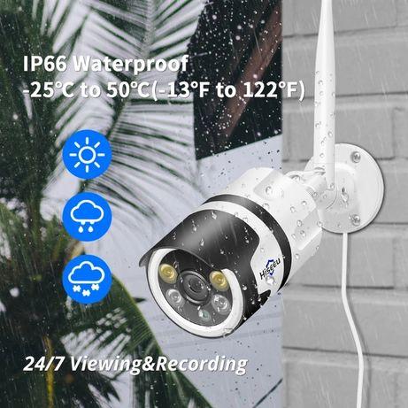 WiFi IP безжична камера FULL HD 5MPX за външен монтаж видеонаблюдение