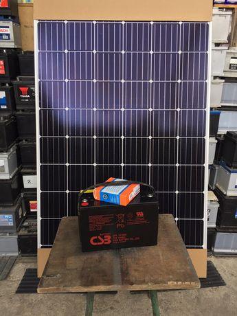 ПРОМОЦИЯ !!! К-т соларна система:панел,батерия,контролер,ТОП!!!
