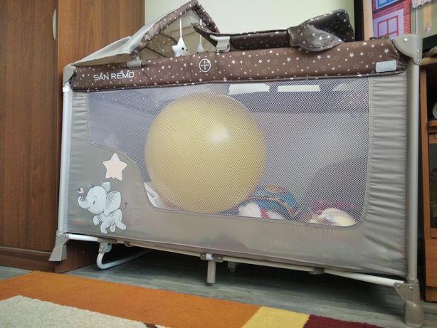 Манеж детский 2х этаж