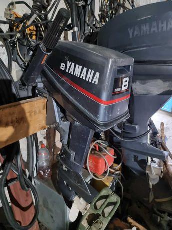 Мотор лодочный yamaha 8