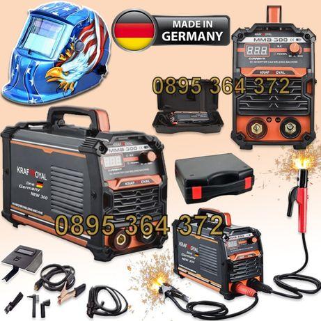 Немски Инверторен Електрожен в Куфар 300А KrafT Royal + Маска 02