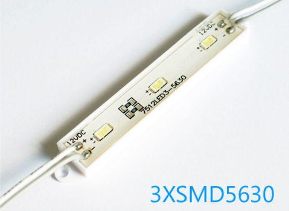 LED модул, бял водоустойчив, ЛЕД диодни модули цветни бели и RGB, 12V