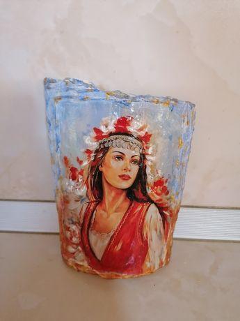 Уникални!!!Ръчно изработена керемида за стена или декорация