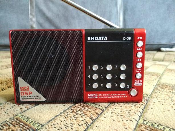 РадиоприёмникXHDATA D-38