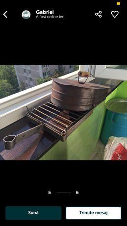 Gratar de balcon ,de geam in stare perfecta