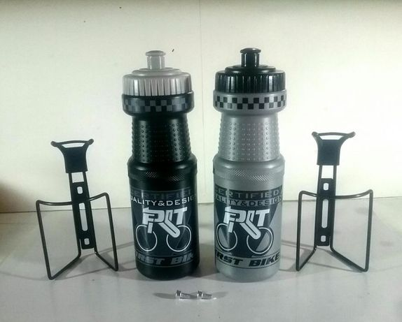 BIDON APA cu SUPORT Aluminiu pentru bicicletă - NOI - 20 Lei