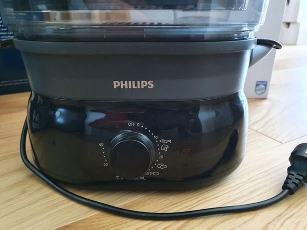 Aparat de gătit la aburi PHLIPS Daily Collection, 900 W, 9 L, NOU