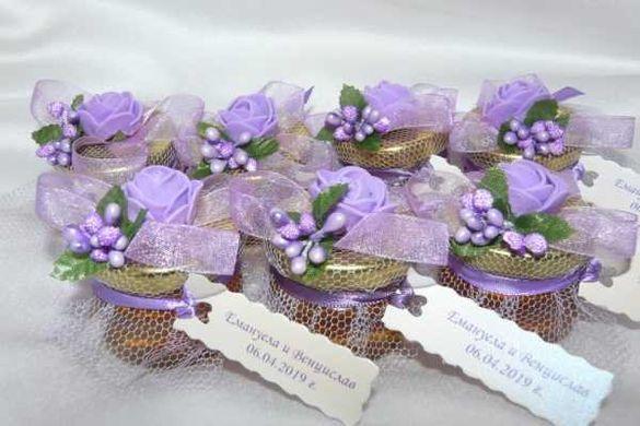Подаръци за гости на сватба и кръщене