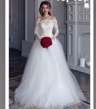 Продам очень нежное свадебное платье