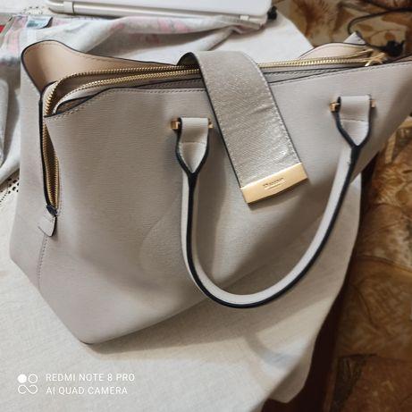 Дамска чанта кожена