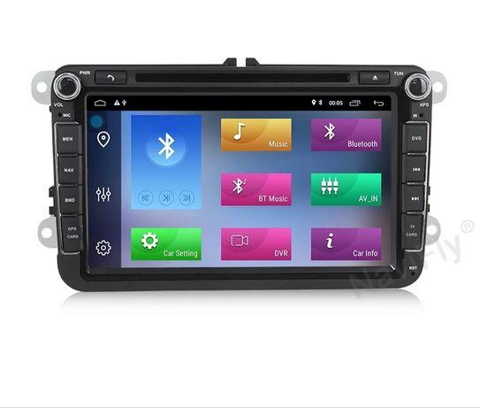 Navigație VW SEAT SKODA, 8 inch Android 10 ,4 GB RAM GARANTIE