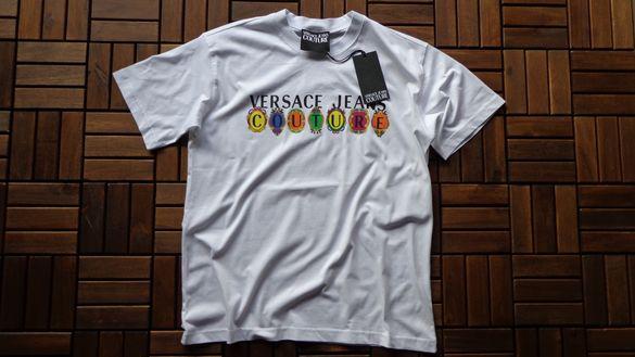 Мъжка тениска Versace Jeans Couture logo print cotton T-shirt