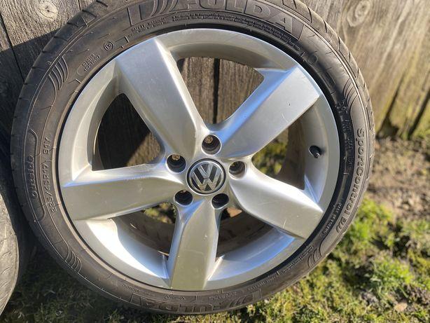 Roți Volkswagen 225 45 R17 cu cauciucuri de vara