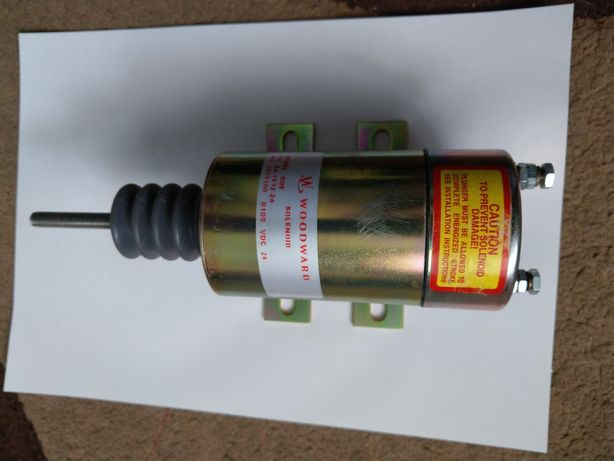 Solenoid oprire-pornire 24V / Opritor mecanic / excavatoare, altele...