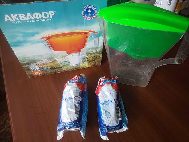 Новые 2 фильтр для воды Аквафор + Кувшин бу Aquaphor   Original