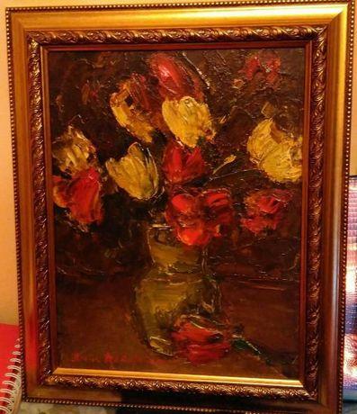 De vanzare tablou Vaza cu flori - Ileana Radulescu