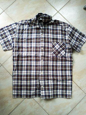 Мъжка риза с къси ръкави
