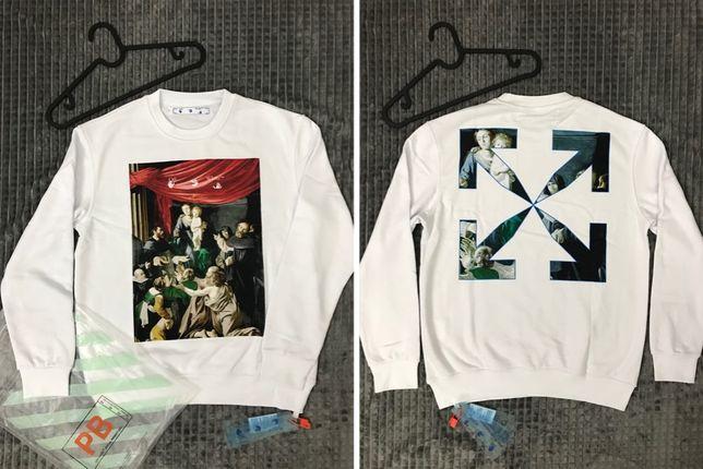 Bluza Off-White CARRAVAGIO Sweatshirt - PREMIUM